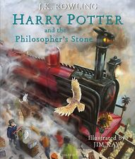 Harry Potter and the Sorcerer's Stone :The Illustrated Edition Rowling Hardcover