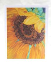 Sunflower Blank Note Cards, Blank All Occasion Greeting Cards 8-Pack Floral