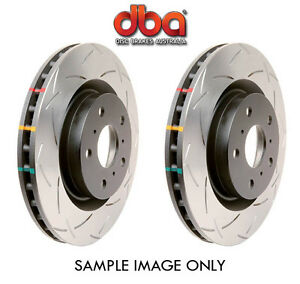 DBA FRONT + REAR T3 4000 Slotted disc Rotors Commodore VT VU VX VY VZ SS HSV