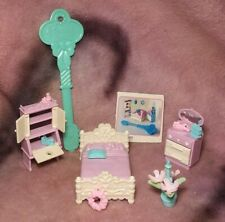 Vintage Precious Places Bedroom Furniture Set - 1988 Fisher-Price