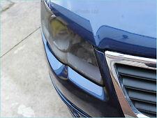 Perforated Film Headlights Tint Car Window Wrap like Fly-Eye Black 20cm x107cm