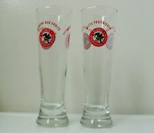 FLORIS WITBIER Belgian BEER GLASSES/ Pair -Collectible