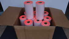 Case Of Red Labels for Avery Dennison 216