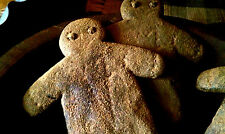 PRiMiTiVE 2 Gingerbread Man Blackened BeesWax Spiced Gingers Bowl Filler Ornies