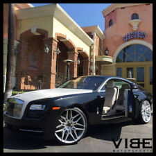 """24"""" GIOVANNA BOGOTA SILVER CONCAVE WHEELS RIMS FITS ROLLS ROYCE GHOST"""