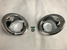 Bearmach Land Rover Freelander 2 Chrome Front Fog Light Bezel Surrounds BA4486A