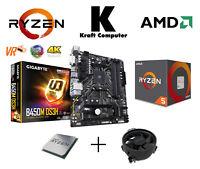 PC Bundle AufrüstKit Ryzen 5 2600 6x3,9GHz + Gigabyte B450M DS3H + NEU/OVP