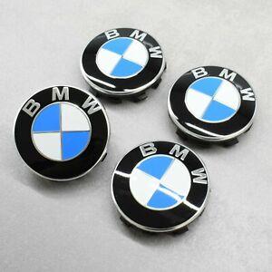 NEU 4x Original BMW F2 F45 X1 X3 5er G30 6er 7er G11 Nabendeckel Nabenkappen