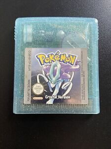 Pokemon Crystal Cartridge Only GENUINE - Gameboy Colour! Read Description!