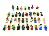 Large job lot of 35+ LEGO FIGURES - Genuine bundle pieces.  (2 of 2) Free Post