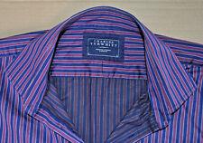 Charles Tyrwhitt Informal Con franjas de Algodón Camisa Tamaño L Jermyn Street grande