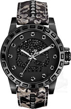 Harley Davidson Womens Black Crystal Skull 78L116 Watch - 13 off