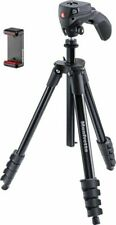 "Manfrotto Compact Action Smart 61"" Tripod for Canon Dslr Nikon dslr Gopro"