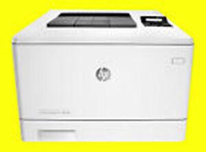 HP ColorLaserJet Pro M452NW, M 452nw, ca. 54.490 Seiten gedruckt/gebraucht/953