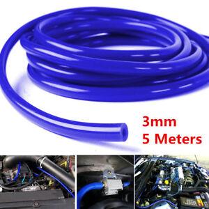 3mm Silicone Vacuum Hose Tube Car Air Water Coolant Oil Turbo Silicon Tubing 5M