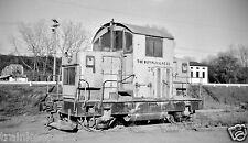 Buffalo Slag #36 / Cushing Stone EMD Model 40 Black & White Print