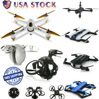RC Drone Foldable Quadcopter Helicopter Telecontrol Aircraft 1080P HD Camera GPS
