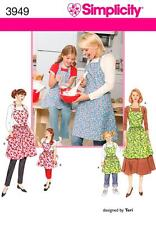 Simplicity SEWING PATTERN 3949 Childs And Misses Aprons
