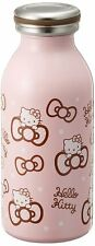 Mosh! Sanrio Hello Kitty Pink Ribbon Hot Cold Water Bottle Thermos 0.35L