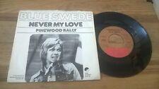 "7""  Pop Blue Swede - Never My Love (2 Song) EMI SWENSKA / US PRESS Björn Skifs"