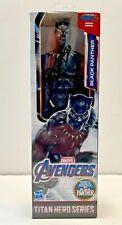 Chadwick Boseman Black Panther Titan Hero Series Signed 12 Toy Figure W/ DG COA