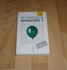 Get Started in Windows 7: Teach Yourself by Mac Bride (Paperback, 2010)
