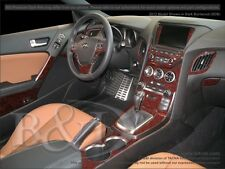 WOOD GRAIN DASH KIT FOR HYUNDAI GENESIS COUPE (FITS WITH NAVIGATION MODELS)