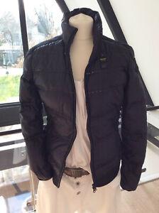 Blauer USA Damen Jacke, Gr. L (38-40-42), Schwarz, Hybrid Daunen