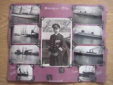 27 Fotos Norwegen 1936 mit Kapitän Karl Strauch und Schiffen