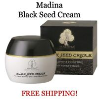 Madina Natural Black Seed Cream - For Lighter Firmer Skin HERBAL EXTRACTS Lotion