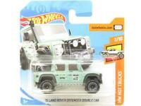 Hotwheels 15 Land Rover Defender Double Cab 158 Short Card 1 64 Scale Sealed New