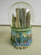 World Trade Center Snow Globe San Francisco Music Box Co. New York, Ny