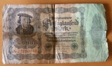 50000 Reichsbanknote, 19.11.1922, serial number A22280049