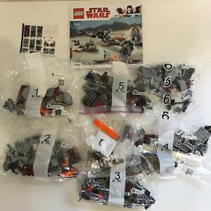 LEGO Star Wars   75202 Defence of Crait   New