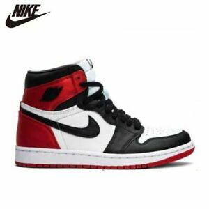 OFFERTA, MODA 2020 Scarpe Nike Jordan 1 Simil Pelle, UOMO, DONNA, UNISEX