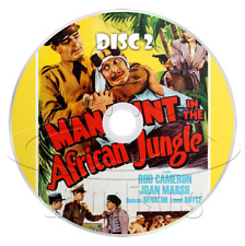 Man Hunt in the African Jungle (1943) Movie Serial Cliffhanger (2 x DVD)