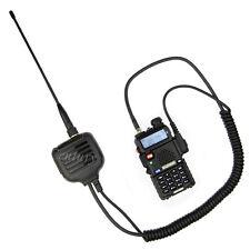 SMA-F UHF/VHF Antenna Speaker Mic for Baofeng UV5R UVB6 BF888S UV5RA Plus Radio