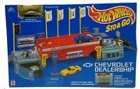 Vintage Hot Wheels Sto & Go Chevrolet Car Dealership 65616-91 Mattel 1995