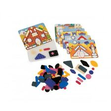 Colour Match Toys Game Educational Peg Board Game By Asco Picasco 3 'Houses'