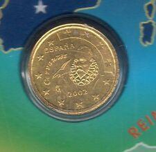 Espagne - 2002 - 10 centimes d'euro FDC provenant coffret BU 99301 exemplaires