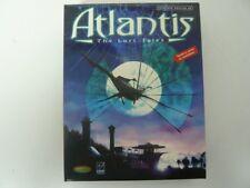 Atlantis - The Lost Tales / Clásico / Juego PC / Big Box