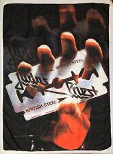 Judas Priest Banner Vtg Flag British Steel Album Graphic Poster Tapestry 40x30