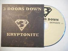 3 DOORS DOWN : KRYPTONITE ♦ CD SINGLE PORT GRATUIT ♦