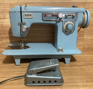 Brother Project 651 Heavy Duty Sewing Machine Vintage Blue