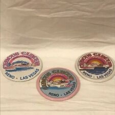 Circus Circus Hydro Racing Team Buttons - Lot of 3 Pins - 1980's - G/VGC