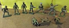 10 Ancienne Figurines Starlux STARLUX & autres marque militaire Américains