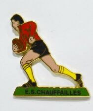 PINS RUGBY US 71 CHAUFFAILLES SAONE ET LOIRE METAL EMAILLE
