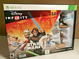 Disney Infinity Xbox 360 Star Wars Disney Starter Pack 3.0 Edition New in Box