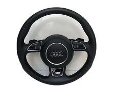 Audi S Line A4 S4 A5 S5 Q5 Q7 A3 S3 A6 S6 A8 R8 Lenkrad Schaltwippen Airbag  #01