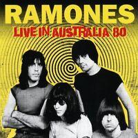 Ramones - Live in Australia 80 (2018)  CD  NEW/SEALED  SPEEDYPOST